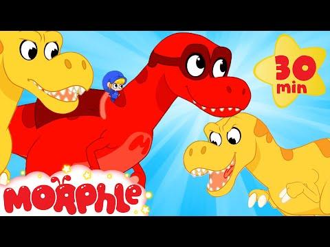 Super Dinosaurs - Mila and Morphle   Cartoons for Kids   Morphle TV