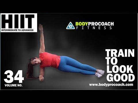 Train To Look Good | Volume 34 || BodyProCoach || HIIT Advanced | Praveen Nair | Maahek Nair