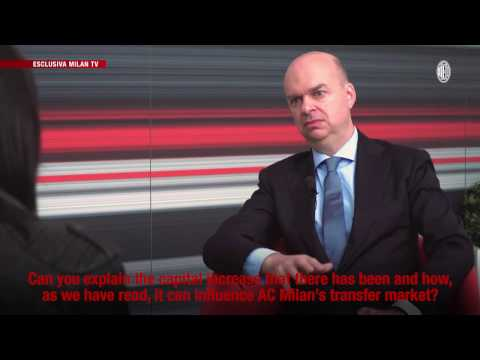 """Fassone: """"We want to invest for a strong AC Milan"""""""