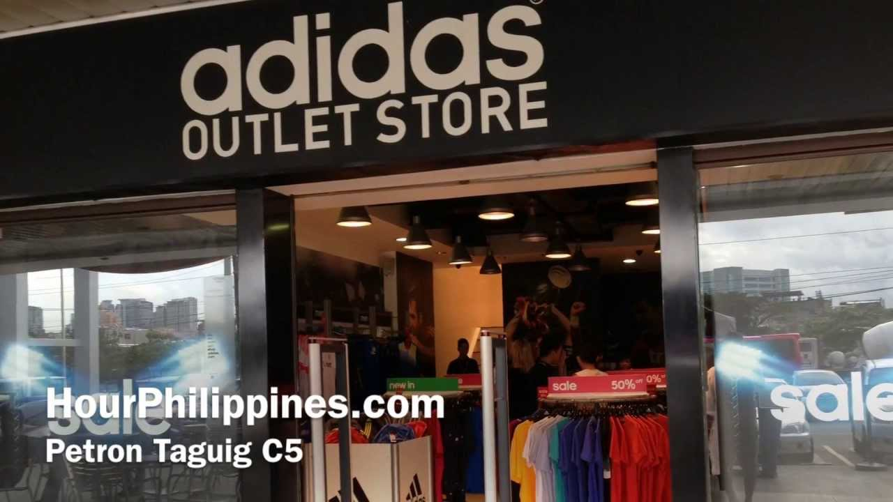 Adidas Outlet Store Petron Taguig C5 Manila by HourPhilippines.com - YouTube