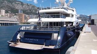 Lakshmi Mittal and his Crazy US$ 150,000,000 SuperYacht Amevi