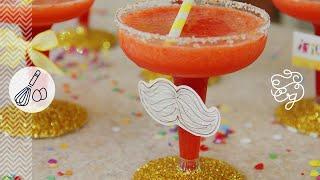 Cómo Preparar Margaritas De Fresa Cóctel