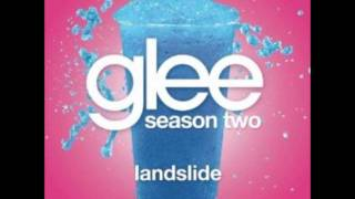 Glee - Landslide(Lyrics)