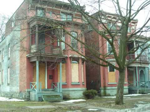 Utica New York areas of Urban Blight and neglect by landlords