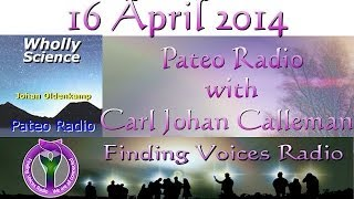 Pateo Radio with Carl Johan Calleman Wed Apr 16 2014