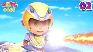 Vir: The Robot Boy | Hindi Cartoons For Kids | Action Gags - Part 2 | WowKidz Gags