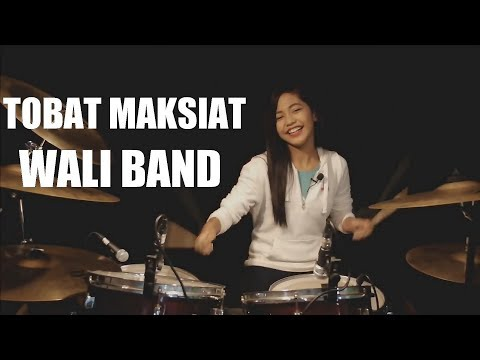 Tobat Maksiat | Wali Band | Drum Cover by Nur Amira Syahira