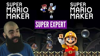 An Uphill Battle | Super Expert No Skips Challenge | Mario Maker [XV]