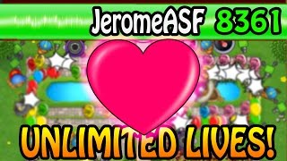 *STACKING TOWER GLITCH* HOW TO GET INFINITE LIVES - BLOONS TOWER DEFENSE BATTLES | JeromeASF