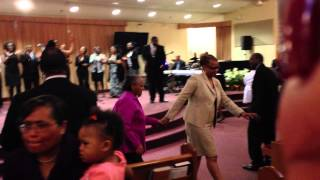 """WCGS Mass Choir """"I Will Bless The Lord"""""""