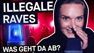 Illegale Techno-Raves: Adrenalin-Kick bis die Polizei kommt || PULS Reportage
