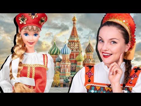 РУССКАЯ Барби! Обзор и распаковка Russian Barbie 1996