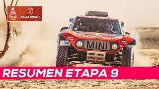 El Dakar se aprieta, Sainz se queda con 24 segundos de ventaja | Resumen Etapa 9 Dakar 2020