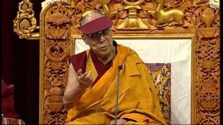 The 14th Dalai Lama of Tibet Sydney Teaching June 2013 Jewel Lamp The Praise of Bodhicitta Session 5