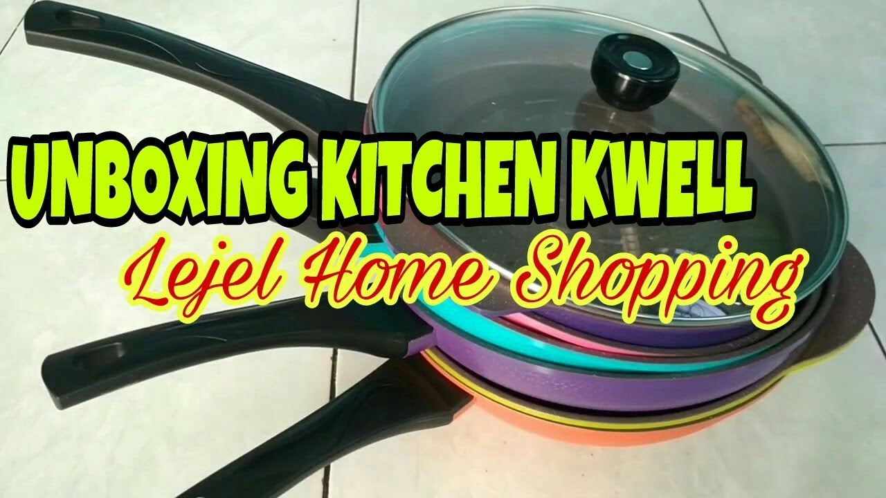 Kitchenkwell lejelhomeshopping unboxing