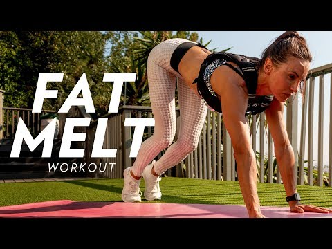 HOW TO BURN A LOT OF CALORIES IN A LITTLE TIME--SMASH the Fat Melt Workout!