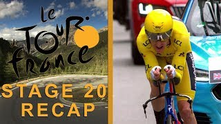 Tour de France 2018: Stage 20 Recap I NBC Sports