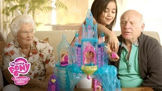 My Little Pony Australia - 'Crystal Empire Castle!' Grandma & Grandpa Unboxing