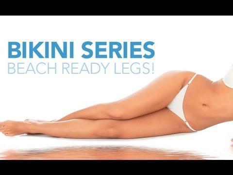 BIKINI BODY Workout Part 3 THIGHS Exercises for Bikini Ready LEGS!!