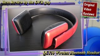 item review - QCY50 Wireless Bluetooth Headset