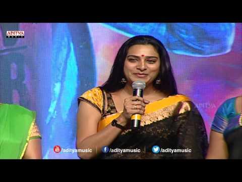Surekha Vani Speech At Pandaga Chesko Audio Launch    Ram, Rakul Preet Singh, Sonal Chauhan