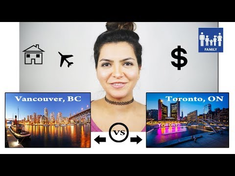 Cost of living in Vancouver, BC vs Toronto,ON - Pros & Cons 2018