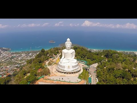 "THE FAMOUS BIG BUDDHA OF PHUKET "" ONE Biggest Buddha in Thailand asia Travel trip shopping"