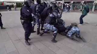 Задержание Павла Устинова