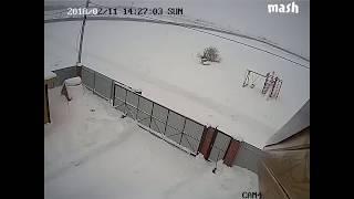 ЖЕСТЬ!Падение Ан-148 попало на камеру наблюдения