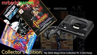 My (PAL) SEGA Mega Drive Console & Games Collection | Part 3 | 3rd Party