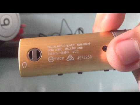 Sony Walkman NWZ-B183F Review (Part 1)