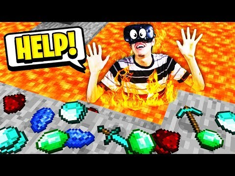 I broke the #1 rule in Minecraft... (Minecraft VR Survival)