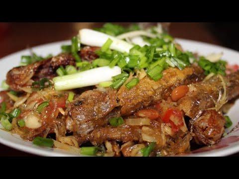 ចៀនជួនត្រីតាអោន | Khmer Cooking | Khmer Food | Asian Food