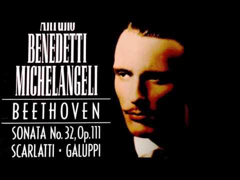 Galuppi/Scarlatti - Sonata No.5 / Sonatas (recording of the Century : Arturo Benedetti Michelangeli)