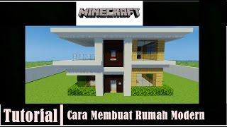 MINECRAFT : Tutorial Cara membuat Rumah Modern - 4