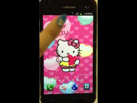 HELLO KITTY LiveWallpaper 4