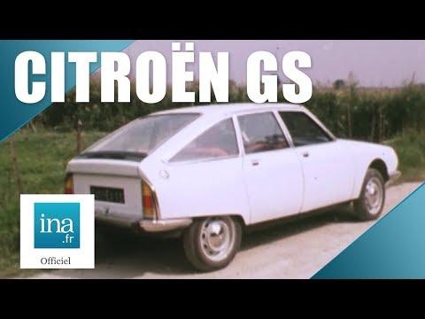 1970 :  La Citroën GS | Archive INA