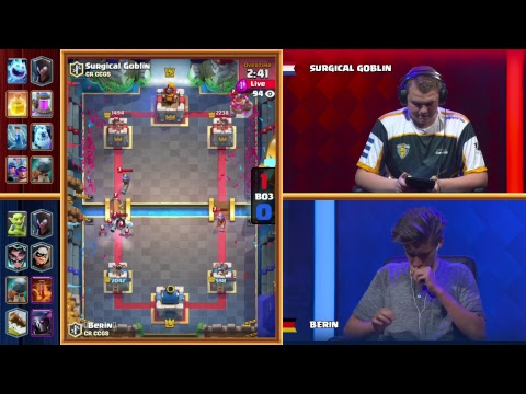 [EN] Clash Royale: Crown Championship Spring Finals (EU) - Crown Championship