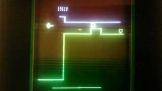 Scramble gameplay for Vectrex