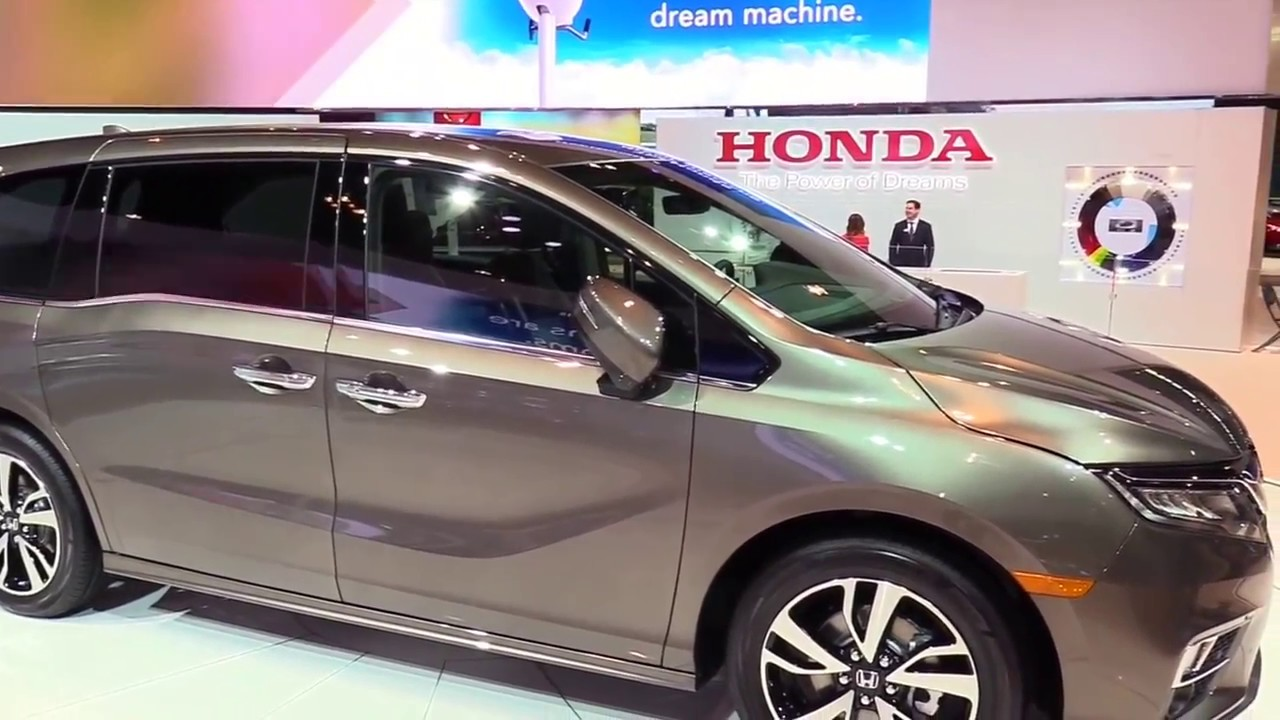 2018 Honda Odyssey Elite Features Exterior And Interior First Impression Look In Hd