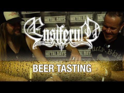 Ensiferum - beer tasting at MetalDays 2018