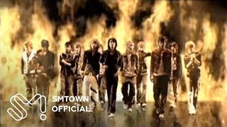 "SUPER JUNIOR's 1st Album ""Super Junior 05"" has been released. Liste..."