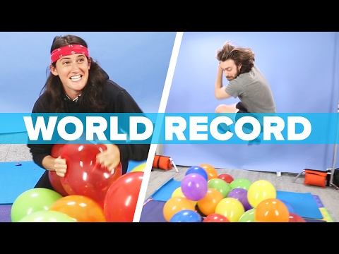 ULTIMATE BALLOON POPPING CHALLENGE