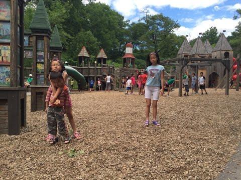 Toronto High Park Zoo, Train ride & Jamie Bell adventure playground.  July15_2016