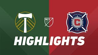 Portland Timbers vs. Chicago Fire | HIGHLIGHTS - August 14, 2019