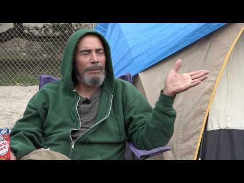 Chapman News Santa Ana Riverbed Homeless Community