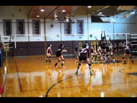 Volleyball Highlights- Emily Stephens- Class of 2015- Middle Blocker