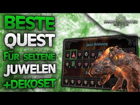Beste Quest für seltene Juwelen farmen + neue Dektorüstung - Monster Hunter World Deutsch News thumbnail