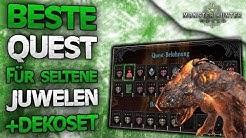 Beste Quest für seltene Juwelen farmen + neue Dektorüstung - Monster Hunter World Deutsch News