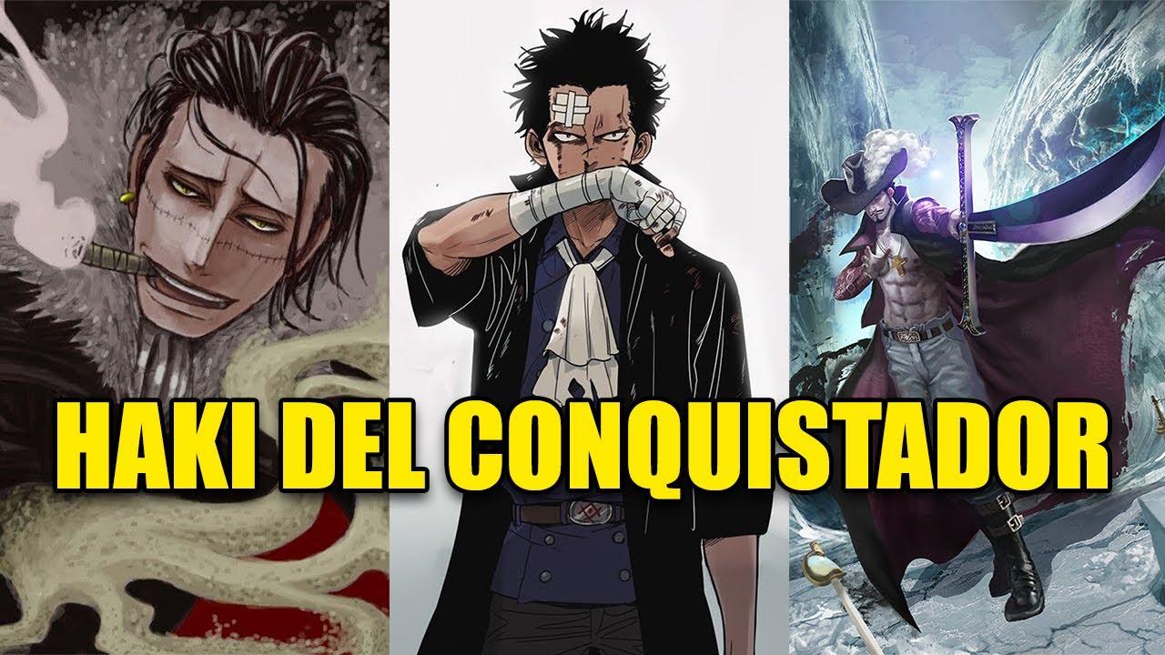 7 Personajes que PODRÍAN 🤯🤯 tener Haki del CONQUISTADOR | One Piece TOP